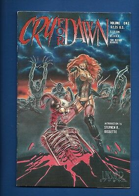 CRY FOR DAWN # 1 COMIC 1st APPEARANCE JOSEPH M LINSNER & MONK HTF 1989