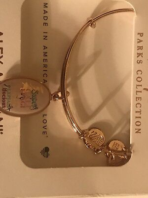 NEW Disney Parks Alex and Ani Mary Poppins Rose Gold Bangle Bracelet