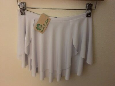 Brand New with Tags Luckyleo Brand Woman's Size Diana Style White Skirt