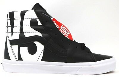 9f817d7bb7 Vans Sk8-Hi (Classic Tumble) Black Leather Size US 13 Men s VN0A38GEUBC