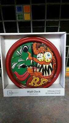 Rat Fink Clock  From Ed Big Daddy Roth.  New