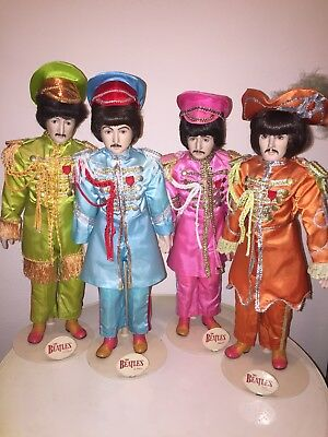 The Beatles Sgt. Peppers Porcelain Dolls 18 Inch Star Shine 1987
