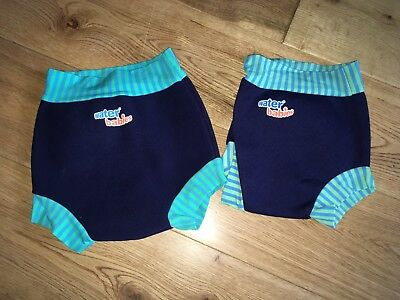 Boys Splash About Happy Nappy Swim Swimming Size Large & Extra 6-12 12-24 Months