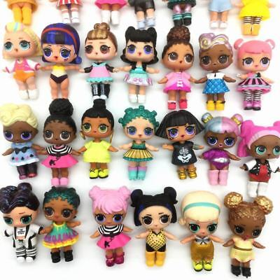 3Pcs LOL Surprise Under Wraps Glam Glitter Confetti Pop doll w/ outfit - RANDOM