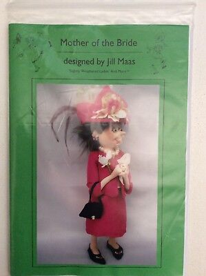 Cloth Doll Sewing Pattern 'Mother of the Bride' By Jill Maas
