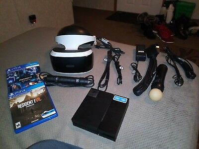 Sony PlayStation VR Headset with Camera (3002810)  WITH RESIDENT EVIL 7