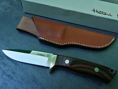 HATTORI H-700 Hunter  NEW  full set  incl box, sheath and paper