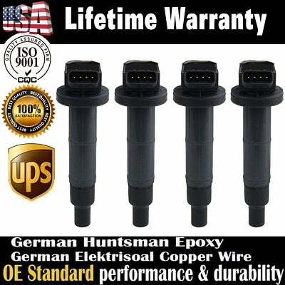 4X High Performance Ignition Coils For Toyota RAV4 Camry Lexus HS250h 2.4L I4 US