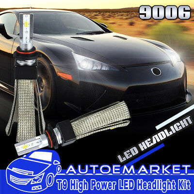 9006 HB4 LED Headlight Bulbs Conversion Kit Copper Heat Fog 3000K/4500K/6000K