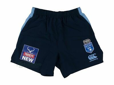 NEW NSW Blues 2019 Men's State of Origin Gym Shorts by Canterbury