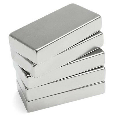 50x25x10mm Super Strong Cuboid Block Magnet Rare Earth Neodymium N52 Newest