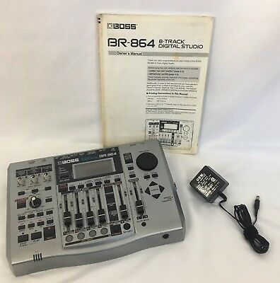 BOSS BR-864 Digital Recording Studio EMS JAPAN Adapter Manual, Lexar 1gb Flash