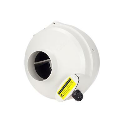 """220V 4""""Inline Duct Hydroponic Booster Fan 320CFM Centrifugal Exhaust Air Blower"""
