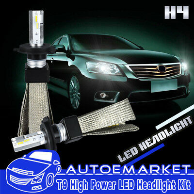 2xCar H4 9003 HB2 LED Headlight Hi/Lo Bulb Conversion Kit 172500LM Xenon White