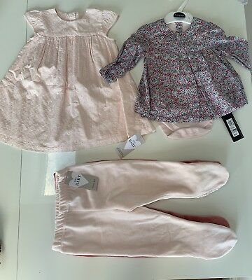 Marks and Spencer Baby Girl 6-9 9-12 6-12 Months Clothes Bundle Bnwt M&S