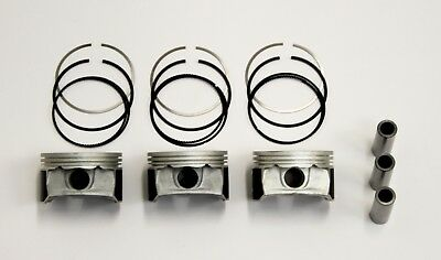 Ford 1.0 12v Ecoboost Set of 3 Pistons with Rings +0.50 mm | WG11488408
