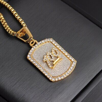 "Men's Hip Hop  Iced Out Mini Emoji 100 Pendant 27"" Rope Chain Necklace"
