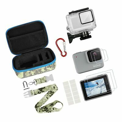 Kitspeed Accessories kit for GoPro Hero 7 White/Silver, Including Waterproof ...