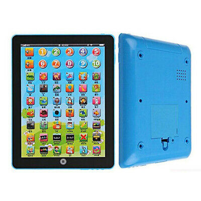 Kids Learning English Tablet Teach Pad Educational Toy Fun Gift For Girl/Boy BG