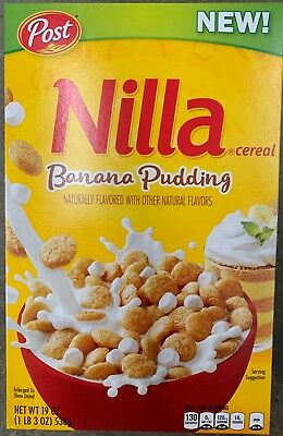 New Post Nilla Cereal Banana Pudding 19 Oz Box Free World Wide Shipping Buy It