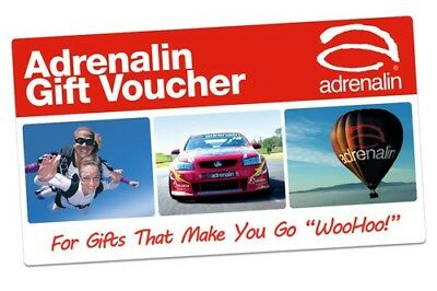 $1,000 Adrenaline 1-Year Gift Card ($100 DISCOUNT)