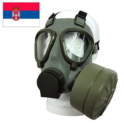 Serbian /Yugoslavian NBC protective Gas Mask M2+40mm Filter + Bag Complete Kit