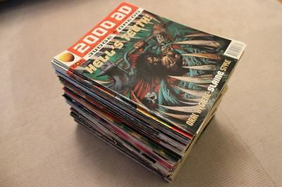 Huge Collection of Various 2000AD and Judge Dredd Comics from the 90s