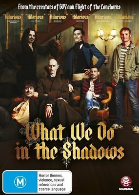 What We Do In The Shadows (DVD, 2015) BRAND NEW SEALED
