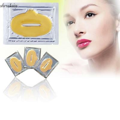 Gold Lip Masks Crystal Collagen Lip Plumping Anti Ageing Moisturising S5DY 02