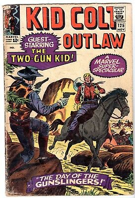 Kid Colt Outlaw #125, Very Good Condition