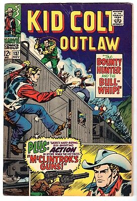 Kid Colt Outlaw #137, Very Good - Fine Condition