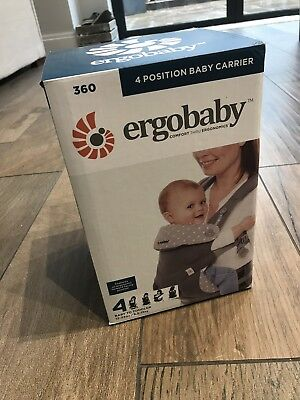 *Ergobaby carrier 360 Dewy Grey RRP£134.90* Hardly Used