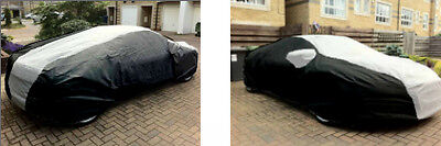 Audi R8 Outdoor Bespoke Breathable Fitted Outdoor Car Cover Black & Grey