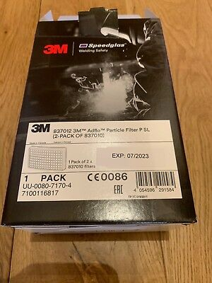 3M Speedglas Adflo Particle Filter - Pack of Two .