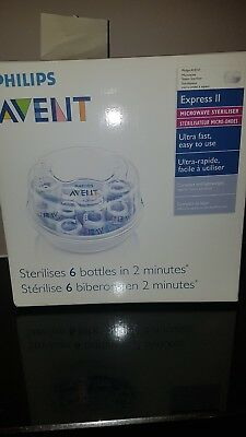 Avent Microwave Steam Bottle Steriliser Baby BPA Free