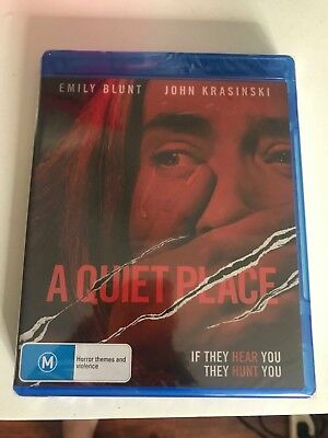 A Quiet Place (DVD, 2018) Blu-Ray - BRAND NEW!