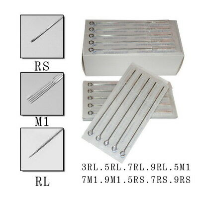 Professional Tattoo Needles -High Quality Precision- RL RS M1 Mixed -50pcs