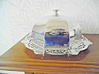 Vintage Silver Plated Cheese Dish