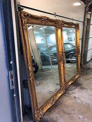 Massive Louis Mirrors ~ 72 inches tall and 42 inches wide