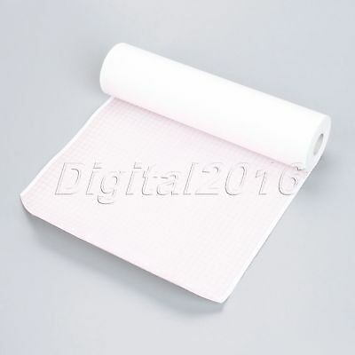 1Roll 210mm*30m Thermal Recording Print Paper ECG/EKG Patient Monitor 12-channel