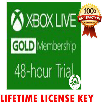 Xbox Live 48 Hour 2 Days  🔐 Gold Trial Instant  Delivery 📥