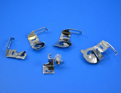 """Wide Hemming Feet Set 1/4"""" 3/8"""" 5/8"""" 7/8"""" Fit Brother Janome Singer Toyota"""