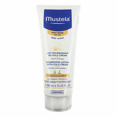 Mustela Nourishing Lotion with Cold Cream 200mL Hypoallergenic Paraben Free