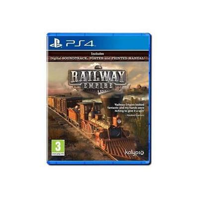 Railway Empire - PS4 IMPORT neuf sous blister