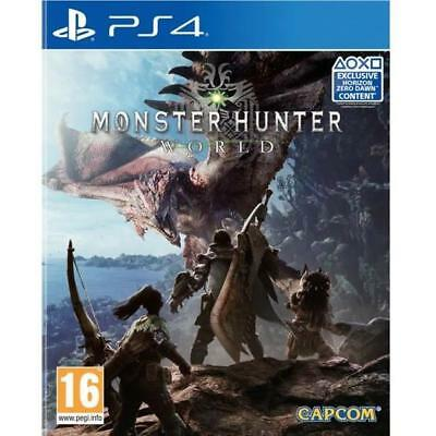 Monster Hunter World - PS4 IMPORT neuf sous blister