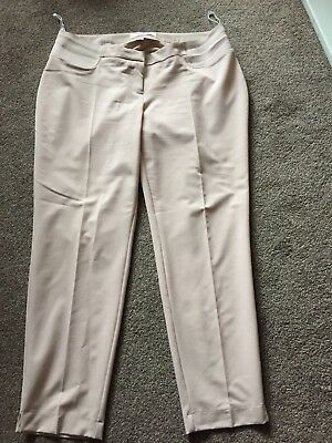 Pale Pink Maternity Capri Trousers Size 12 From Dorothy perkins
