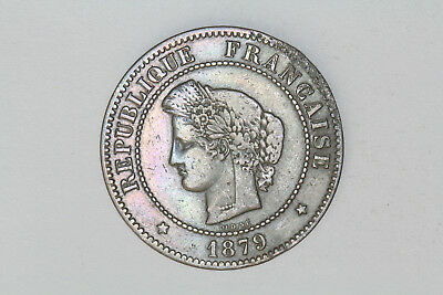 France - 5 centimes 1879 A (#31)