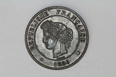 France - 5 centimes 1886 A *quality* (#35)