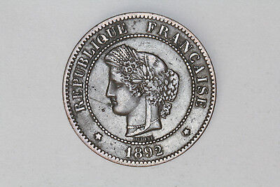 France - 5 centimes 1892 A (#36)
