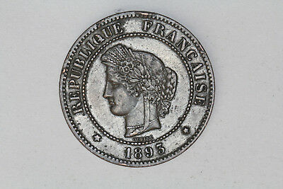 France - 5 centimes 1893 A (#37)